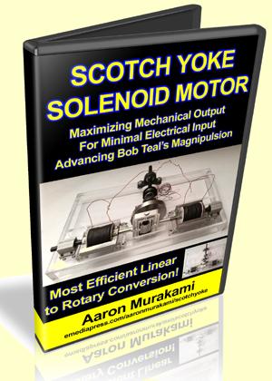 Scotch Yoke Solenoid Motor™ by Aaron Murakami
