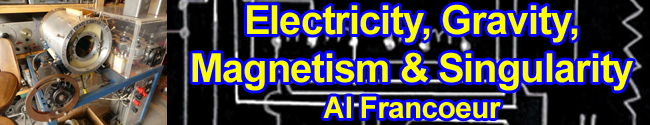 Electricity, Gravity, Magnetism & Singularity by Al Francoeur
