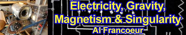 Electricity, Gravity, Magnetism & Singularity by Al Francoeur