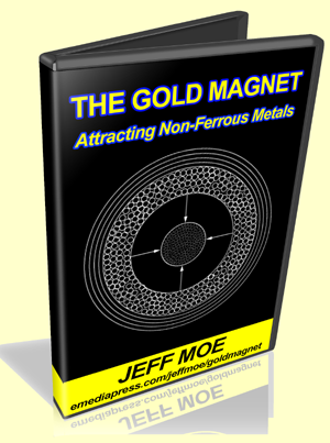 Gold Magnet by Jeff Moe