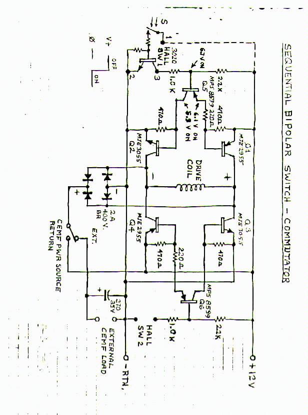 motor diagrams and lab notes