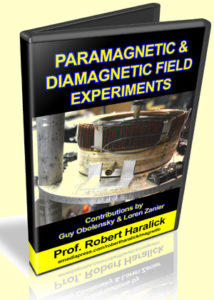 Paramagnetic and Diamagnetic Field Experiments by Professor Robert Haralick, Guy Obolensky & Loren Zanier