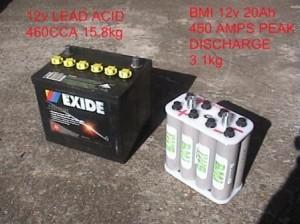 Lead Acid vs LiFePO4