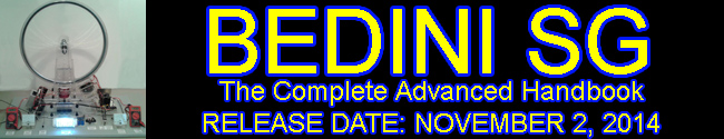 Bedini SG - The Complete Advanced Handbook