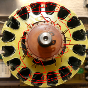 Matthew Jones Motor Modification