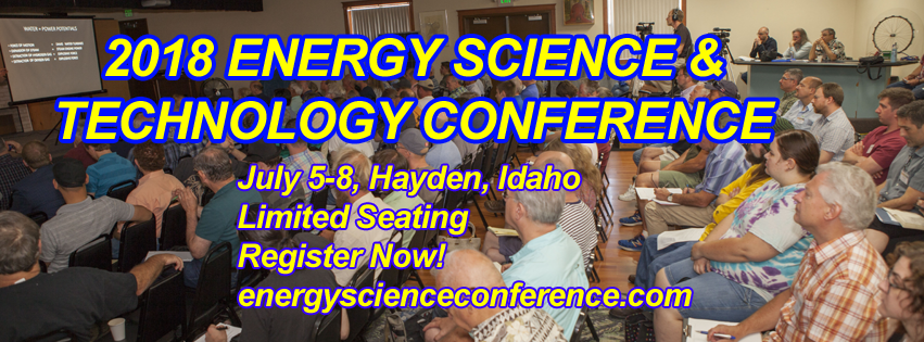 2018 Energy Science & Technology Conference