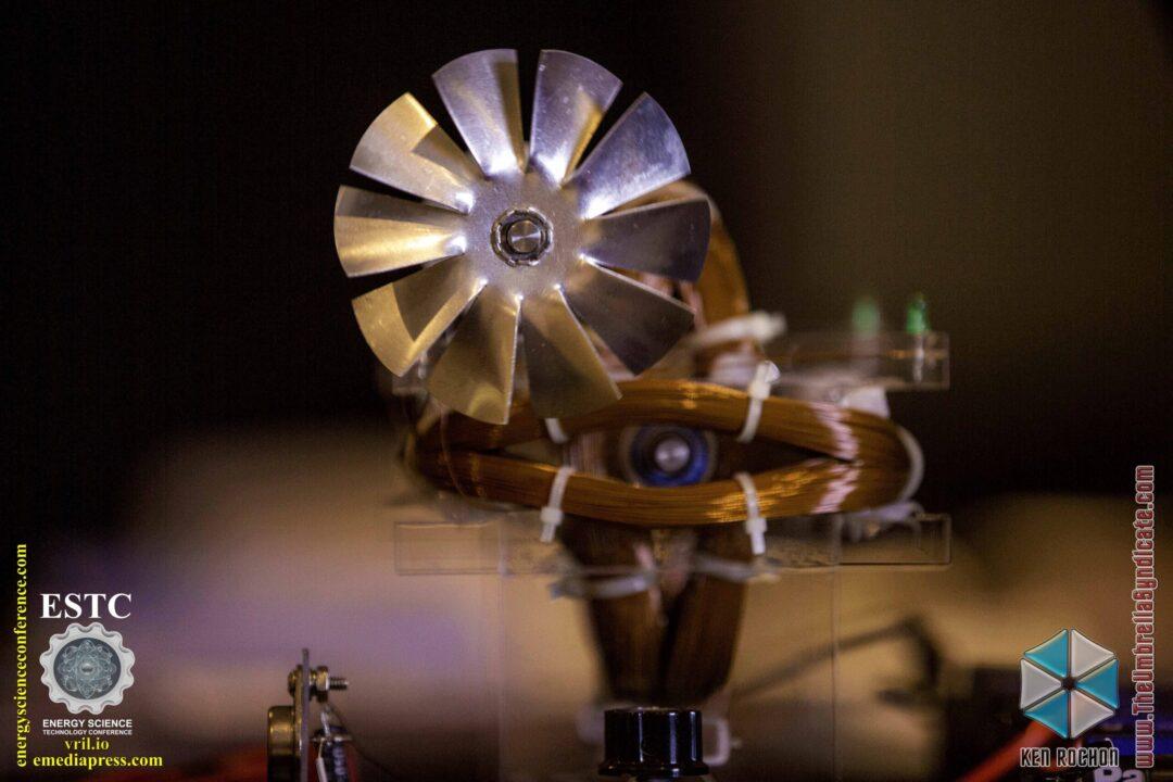 Bedini's Gravity Wave Space Flux Motor 2