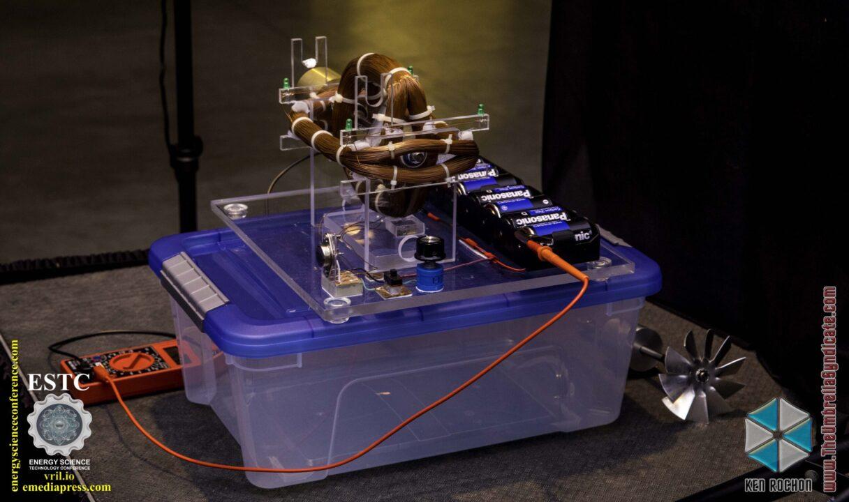 Bedini's Gravity Wave Space Flux Motor 3