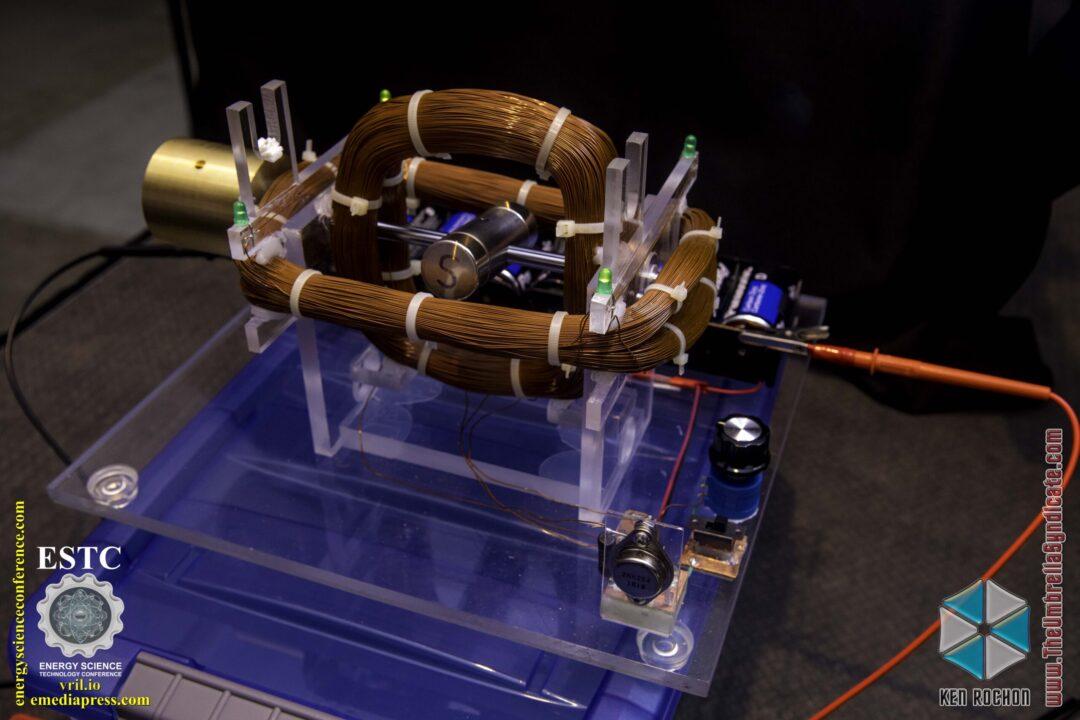 Bedini's Gravity Wave Space Flux Motor 6