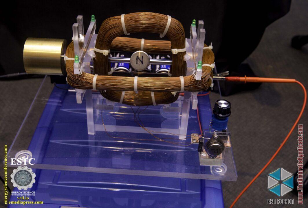 Bedini's Gravity Wave Space Flux Motor 7