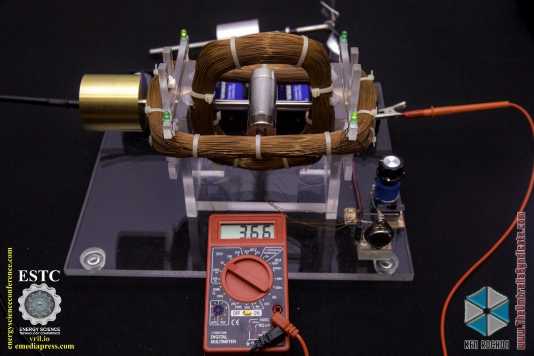 Bedini's Gravity Wave Space Flux Motor 10