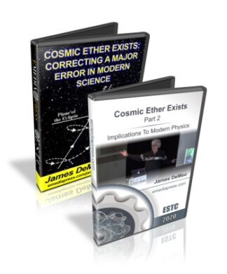 Combo - Cosmic Ether Exists Part 1 & 2 by James DeMeo