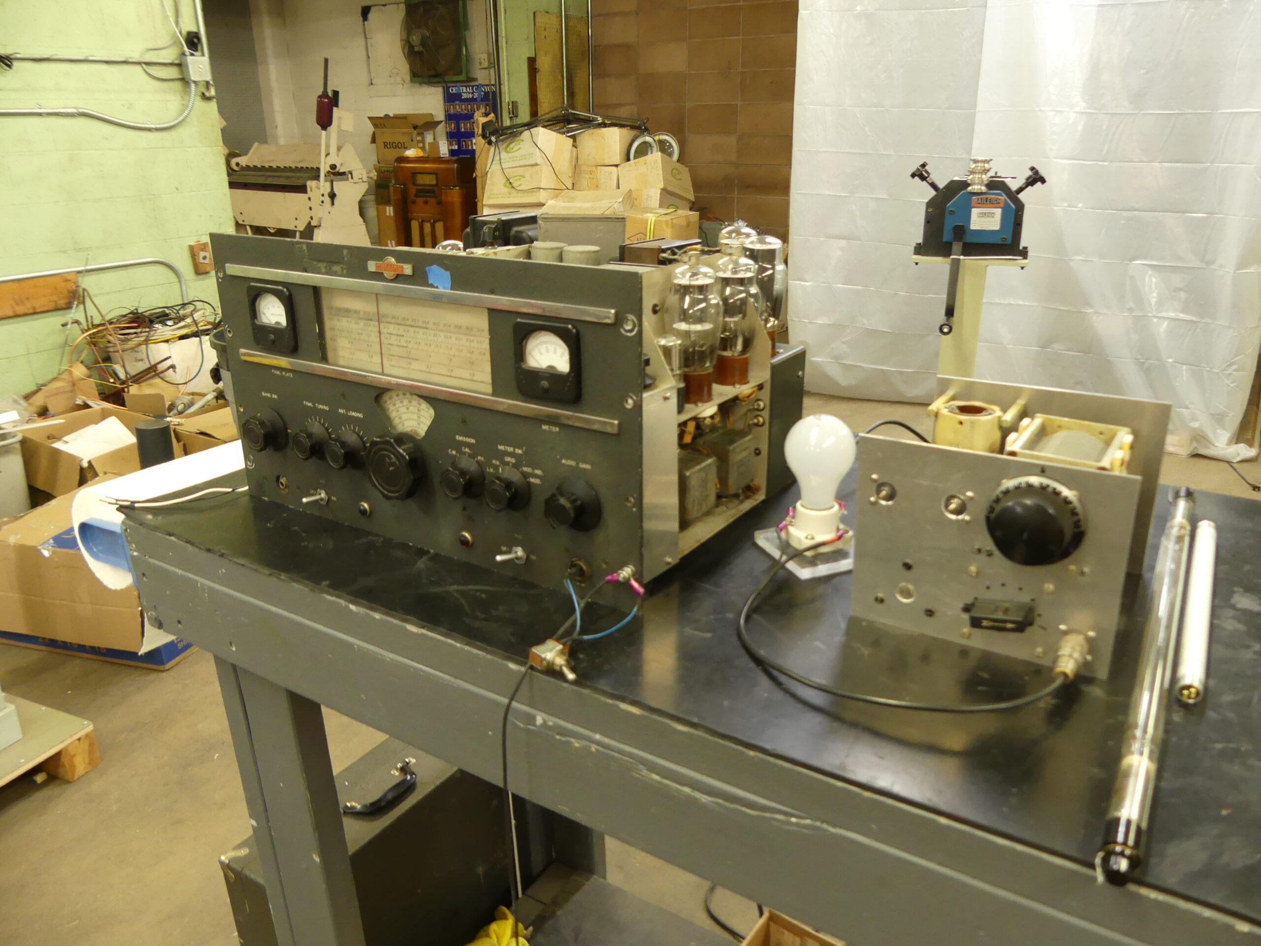 Collins Transmitter