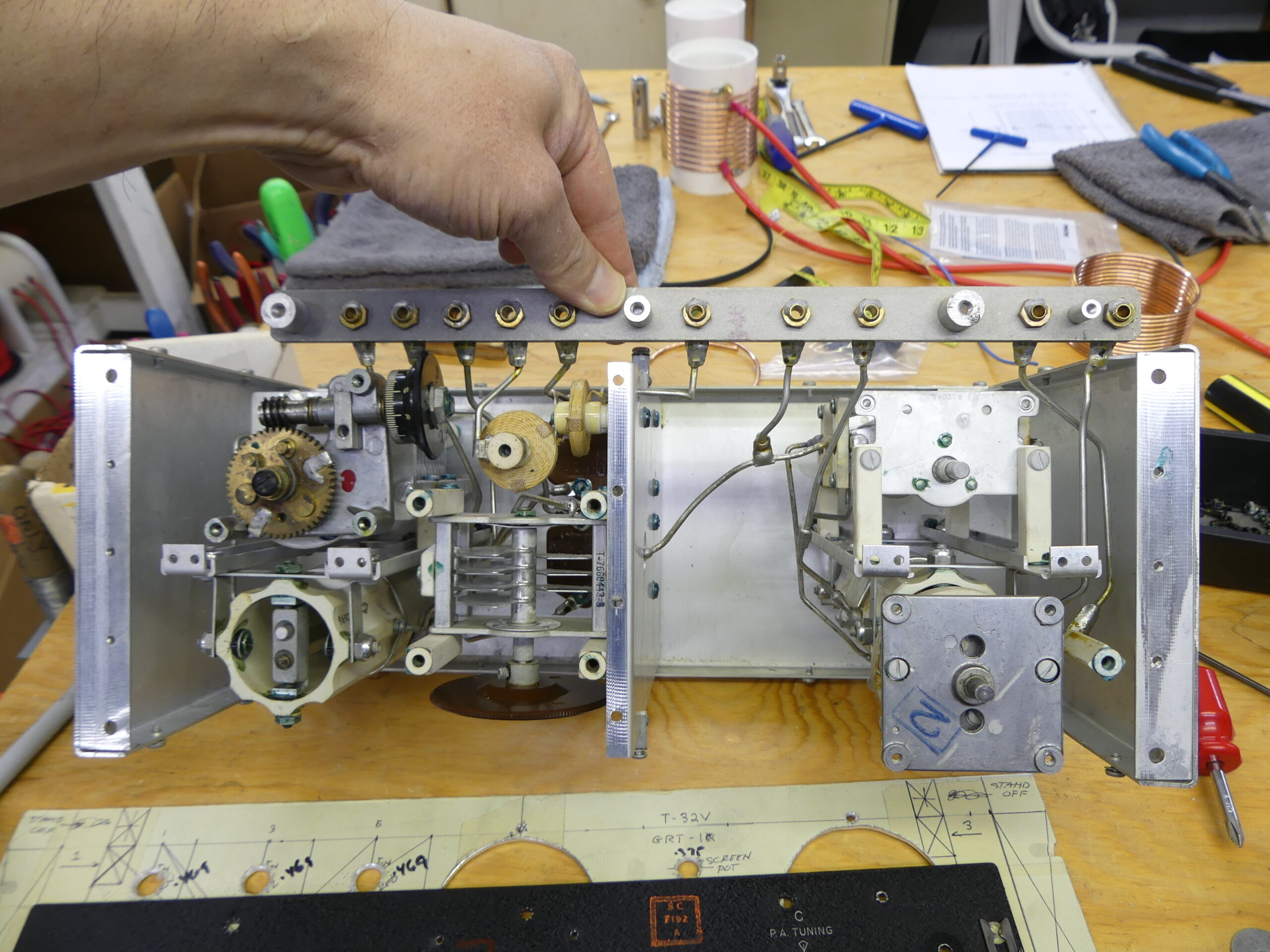 Cosmic Induction Generator Custom Transmitter